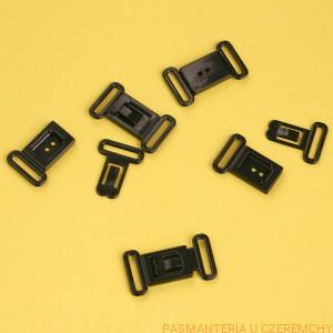 6eb0ad9e8747d8 zapięcie plastikowe 12 mm czarne do biustonosza lub muszki